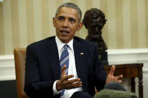 B. Obama vyksta į Čikagos teismą atlikti pilietinės pareigos