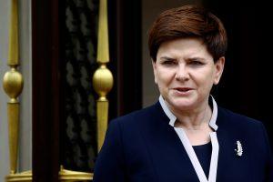 """Estijos ir Lenkijos premjerai tarėsi dėl """"Rail Baltica"""" ir NATO susitikimo"""