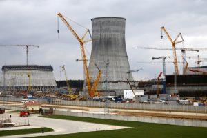 Lietuva pareikalavo stabdyti Astravo atominės elektrinės statybas