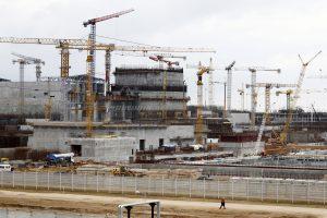 Baltarusija: visą Astravo AE pagamintą elektrą suvartosime patys