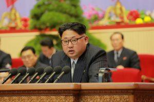 Kinijos prezidentas pasveikino Šiaurės Korėjos lyderį