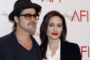 """""""Brangelinos"""" skyrybos: A. Jolie ir B. Pittas laikinai susitarė dėl vaikų"""