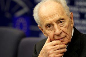 Sh. Peresas: Nobelio taikos premiją pelnęs Izraelio vanagas