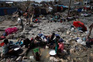 Uragano nusiaubtame Haityje skubios pagalbos reikia 1,4 mln. žmonių