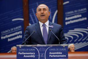 Turkijos pareigūnas Europos Taryboje nuplėšė Mohammedo karikatūrą