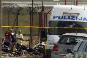 Prancūzijos lėktuvo katastrofa Maltoje užminė mįslių