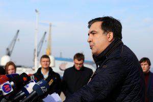 M. Saakašvilis Ukrainoje kurs savo politinį judėjimą