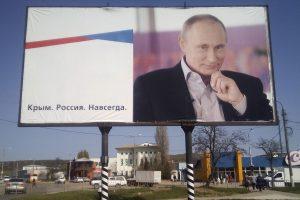 JAV reikalauja Rusijos nedelsiant grąžinti Krymą Ukrainai