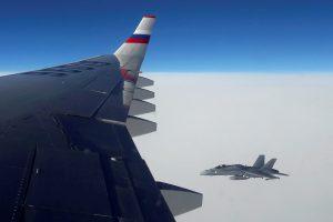 S. Lavrovą skraidinęs lėktuvas pažeidė Estijos oro erdvę