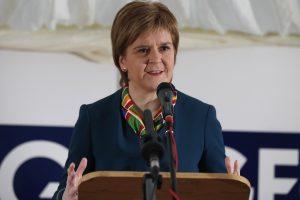 Škotijos lyderė sieks naujo referendumo dėl nepriklausomybės