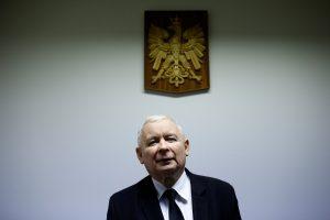 J. Kaczynskis: Lenkijos opozicijos protestas yra bandymas įvykdyti perversmą