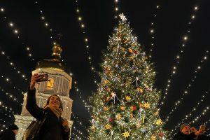 Ukraina nuo Maskvos siekia atsiriboti ir naujomis Kalėdų šventėmis