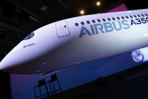 """""""Airbus"""" klientams pristatė rekordinį skaičių lėktuvų"""