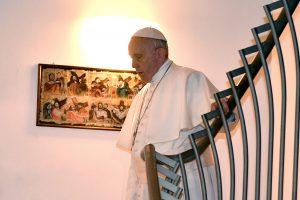 Popiežius prisipažino patiriantis tamsių akimirkų savo paties tikėjime