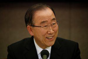 Ban Ki-moonas nesieks tapti Pietų Korėjos prezidentu