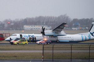 Nyderlanduose leisdamasis sulūžo keleivinis lėktuvas