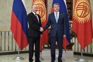 V. Putinas: Rusijos karinė bazė užtikrina Kirgizijos saugumą
