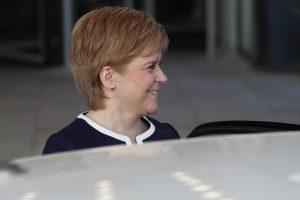 """Škotijos parlamentas """"Brexit"""" išvakarėse balsuos dėl naujo referendumo"""
