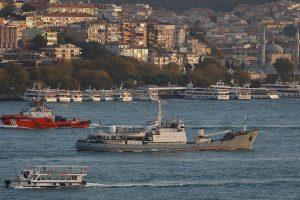 Juodojoje jūroje nuskendo Rusijos karo laivas