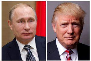 D. Trumpas ir V. Putinas telefonu aptarė Sirijos reikalus ir būsimą susitikimą