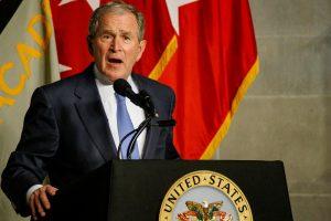 G. W. Bushas: Rusija kišosi į 2016 metų JAV prezidento rinkimus