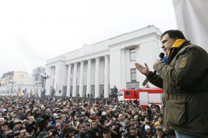 M. Saakašvilis nepripažįsta Ukrainos kaltinimų