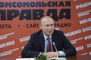 V. Putinas: Kim Jong Unas – kompetetingas ir subrendęs lyderis