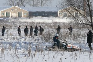 Keleivinio lėktuvo katastrofa Rusijoje: rasta antra juodoji dėžė