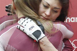 Naujas dopingo skandalas olimpiadoje: įkliuvo Rusijos bobslėjininkė