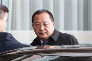 Šiaurės Korėjos ministras atvyko reto vizito į Maskvą