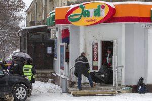 Moldovos sostinėje per sprogimą parduotuvėje žuvo du žmonės