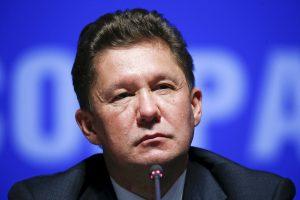 """""""Gazprom"""" vadovas: SGD terminalas pašalino dujų tranzito per Lietuvą grėsmę"""