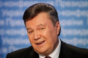 Ukrainos teismas šaukimą V. Janukovyčiui paskelbė per valstybinį laikraštį