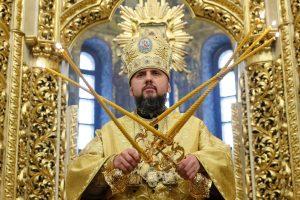 JAV pasveikino nepriklausomos Ukrainos bažnyčios įkūrimą