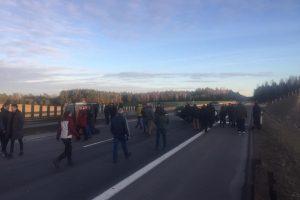 Avarija magistralėje tarp Vilniaus ir Kauno paralyžiavo eismą