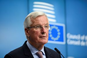 "ES derybininkas pristatė ""Brexit"" susitarimo projektą"