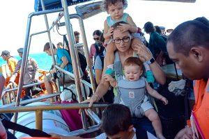 Po 105 gyvybių pareikalavusio drebėjimo Indonezijos salą palieka turistai