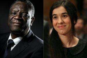 Nobelio taikos premija – Kongo chirurgui ir jezidų aktyvistei