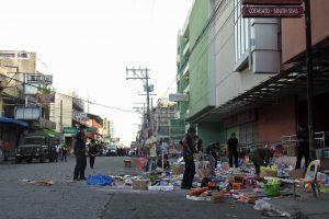 Filipinuose per sprogimą prekybos centre žuvo mažiausiai du žmonės