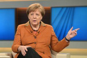 A. Merkel: ES negali leisti Graikijai nugrimzti į chaosą