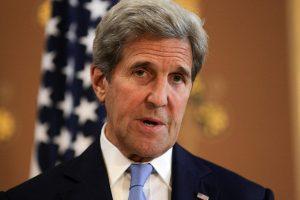 J. Kerry: D. Trumpo kalba Jungtinėse Tautose gali izoliuoti Ameriką