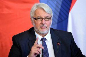 Lenkija pasmerkė Rusijos karo laivų dislokavimą Baltijos jūroje