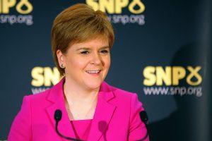 Škotijos lyderė inicijavo naują kampaniją už regiono nepriklausomybę