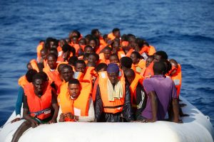 Laive ties Libijos krantais – 25 negyvi migrantai