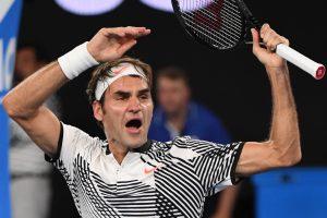 R. Federeris penkių setų trileryje įveikė K. Nishikorį