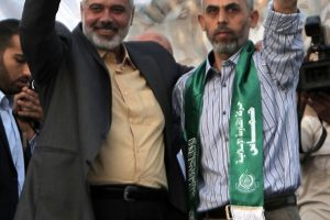 """""""Hamas"""" vadovu Gazoje išrinktas griežtosios linijos šalininkas"""