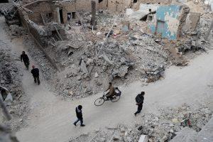 V. Putinas: naujos sankcijos Sirijai trukdys taikos deryboms