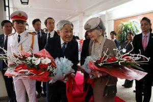 Japonijos imperatorius pradeda istorinį vizitą Vietname