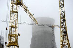Ministras neigia galimybes į Lietuvą tiekti Astravo AE elektrą