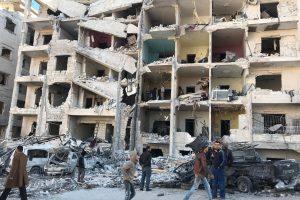Sirijoje per režimo ir Rusijos antskrydžius žuvo 21 žmogus